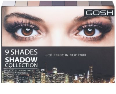 Gosh Shadow Collection Palette mit Lidschatten mit Spiegel 2
