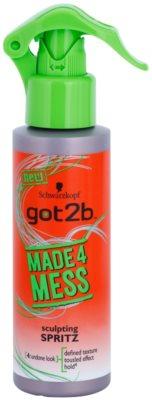 got2b Made 4 Mess pršilo za oblikovanje las za lase