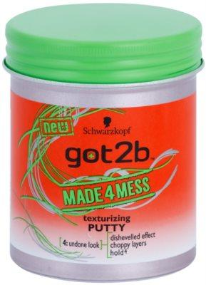 got2b Made 4 Mess masilla moldeadora para cabello