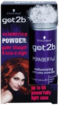 got2b PowderFul polvos para dar definición al peinado para un volumen impecable