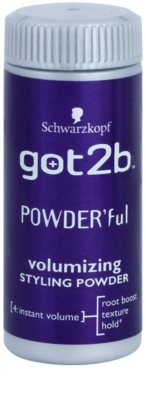 got2b PowderFul Stylingpuder für perfektes Volumen 1
