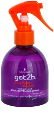got2b Straight on 4 Days spray  a haj kiegyenesítésére