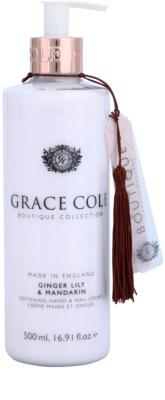 Grace Cole Boutique Ginger Lily & Mandarin bőrfinomító krém kézre és körmökre