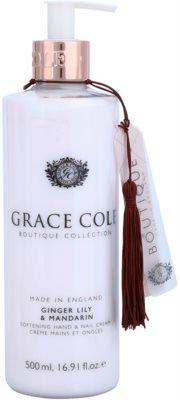 Grace Cole Boutique Ginger Lily & Mandarin zmiękczający krem do rąk i paznokci