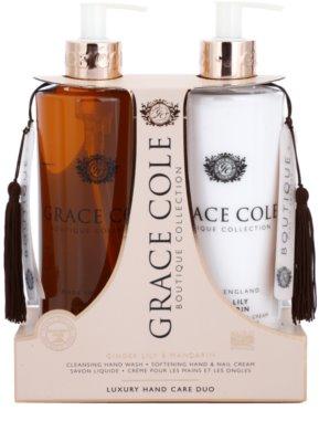 Grace Cole Boutique Ginger Lily & Mandarin kozmetická sada I.