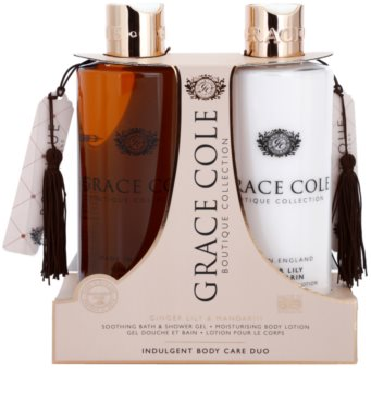 Grace Cole Boutique Ginger Lily & Mandarin kozmetični set II.