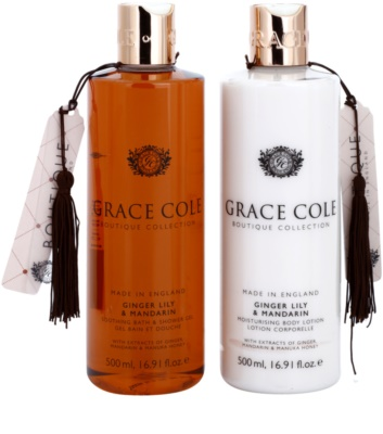 Grace Cole Boutique Ginger Lily & Mandarin Kosmetik-Set  II. 1
