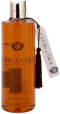 Grace Cole Boutique Ginger Lily & Mandarin bőrnyugtató fürdő- és tusoló gél