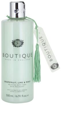 Grace Cole Boutique Grapefruit Lime & Mint espuma de baño relajante