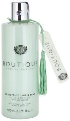 Grace Cole Boutique Grapefruit Lime & Mint relaxační pěna do koupele