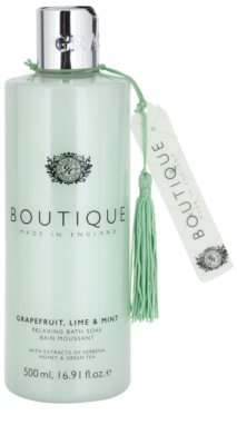 Grace Cole Boutique Grapefruit Lime & Mint spuma de baie relaxanta