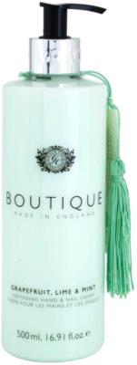 Grace Cole Boutique Grapefruit Lime & Mint Creme für zarte Hände und Fingernägel