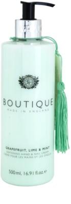 Grace Cole Boutique Grapefruit Lime & Mint mehčalna krema za roke in nohte
