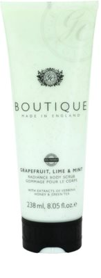 Grace Cole Boutique Grapefruit Lime & Mint aufhellendes Bodypeeling