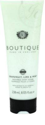 Grace Cole Boutique Grapefruit Lime & Mint rozjasňujúci telový peeling