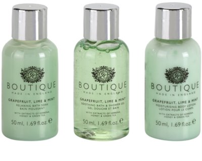 Grace Cole Boutique Grapefruit Lime & Mint kozmetični set II. 1