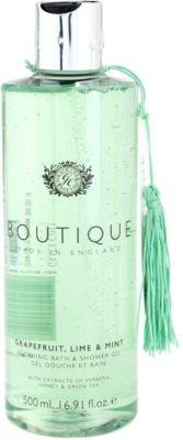 Grace Cole Boutique Grapefruit Lime & Mint gel de baño y ducha calmante
