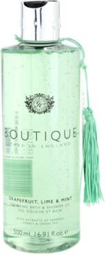 Grace Cole Boutique Grapefruit Lime & Mint gel de duche e banho suave