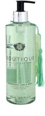Grace Cole Boutique Grapefruit Lime & Mint folyékony szappan kézre