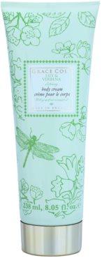 Grace Cole Floral Collection Lily & Verbena creme corporal