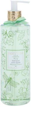 Grace Cole Floral Collection Lily & Verbena tekuté mýdlo na ruce
