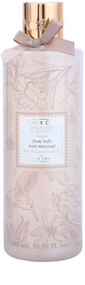 Grace Cole Floral Collection Magnolia & Vanilla espuma de baño