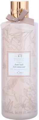 Grace Cole Floral Collection Magnolia & Vanilla pena do kúpeľa