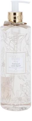 Grace Cole Floral Collection Magnolia & Vanilla sabonete líquido para mãos