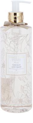 Grace Cole Floral Collection Magnolia & Vanilla tekuté mydlo na ruky