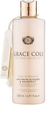 Grace Cole Boutique Nectarine Blossom & Grapefruit spuma de baie relaxanta