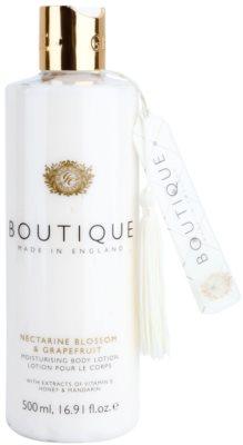 Grace Cole Boutique Nectarine Blossom & Grapefruit hidratáló testápoló tej
