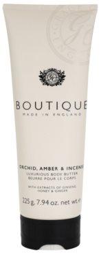 Grace Cole Boutique Orchid, Amber & Incense luxusné telové maslo