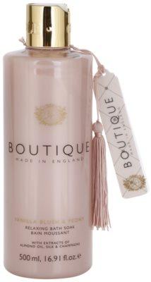 Grace Cole Boutique Vanilla Blush & Peony relaxační pěna do koupele