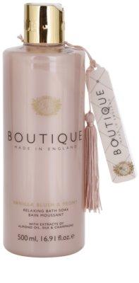 Grace Cole Boutique Vanilla Blush & Peony spuma de baie relaxanta
