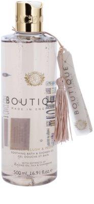 Grace Cole Boutique Vanilla Blush & Peony pomirjevalni gel za kopel in prhanje