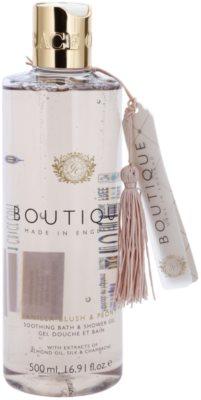 Grace Cole Boutique Vanilla Blush & Peony zklidňující koupelový a sprchový gel