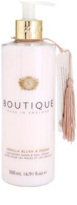 Grace Cole Boutique Vanilla Blush & Peony crema suavizante para manos y uñas