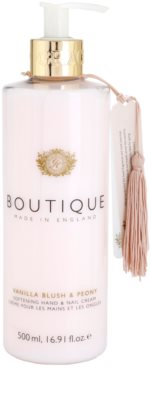 Grace Cole Boutique Vanilla Blush & Peony омекотяващ крем за ръце и нокти