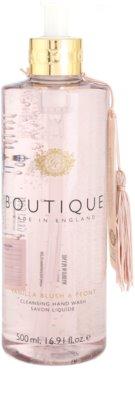 Grace Cole Boutique Vanilla Blush & Peony folyékony szappan kézre
