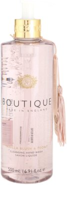 Grace Cole Boutique Vanilla Blush & Peony tekuté mydlo na ruky
