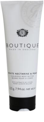 Grace Cole Boutique White Nectarine & Pear luxusní tělové máslo