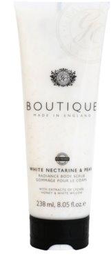 Grace Cole Boutique White Nectarine & Pear aufhellendes Bodypeeling