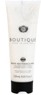 Grace Cole Boutique White Nectarine & Pear освітлюючий пілінг для тіла