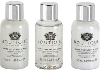Grace Cole Boutique White Nectarine & Pear set cosmetice II. 1