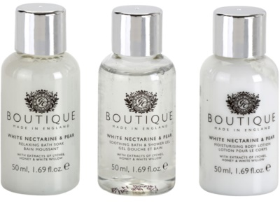 Grace Cole Boutique White Nectarine & Pear kozmetični set II. 1