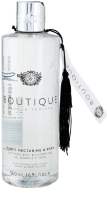 Grace Cole Boutique White Nectarine & Pear Calmant Baie & Gel de dus