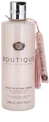 Grace Cole Boutique Wild Fig & Pink Cedar розслаблююча піна для ванни