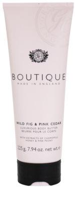 Grace Cole Boutique Wild Fig & Pink Cedar luxusné telové maslo