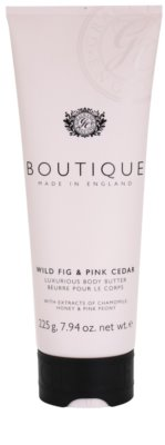 Grace Cole Boutique Wild Fig & Pink Cedar manteca corporal de lujo