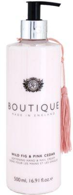Grace Cole Boutique Wild Fig & Pink Cedar mehčalna krema za roke in nohte